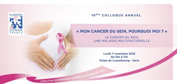 Mon cancer du sein, pourquoi moi ?
