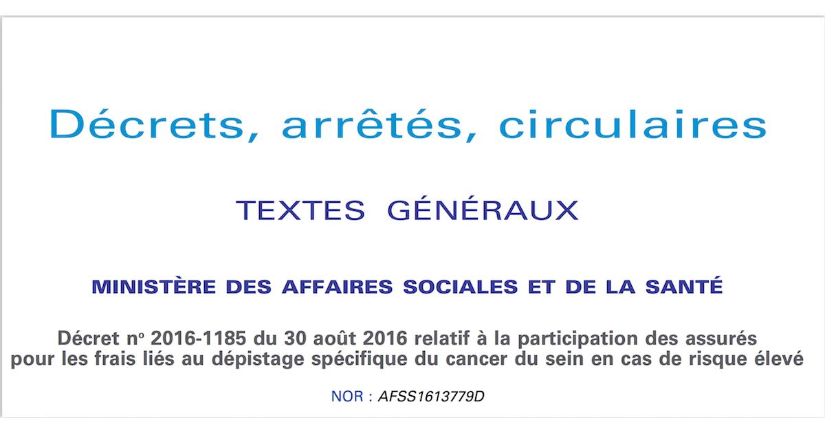 Depistage Du Cancer Du Sein Pris En Charge A 100 Brca France